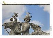 Statue . Place De La Concorde. Paris. France Carry-all Pouch