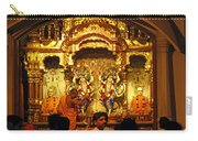 Statues Of Ram And Lakshman And Sita At The Iskcon Temple In Delhi Carry-all Pouch