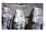 Statues Of Ramses II Carry-all Pouch by Granger