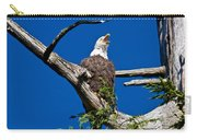 Squawking Alaskan Eagle Carry-all Pouch