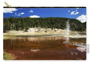 Steam At Firehole Lake Carry-all Pouch