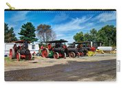 Steam Engines Lined Up Carry-all Pouch