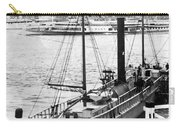 Steamer In The Hudson River - New York - 1909 Carry-all Pouch