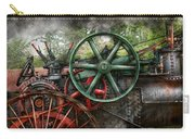 Steampunk - Machine - Transportation Of The Future Carry-all Pouch by Mike Savad