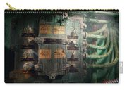 Steampunk - Naval - Electric - Lighting Control Panel Carry-all Pouch