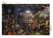 Steampunk - Naval - The Comm Station Carry-all Pouch