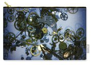 Steampunk Gears - Time Destroyed Carry-all Pouch