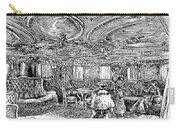 Steamship Salon, C1890 Carry-all Pouch by Granger