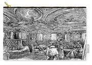 Steamship Salon, C1890 Carry-all Pouch