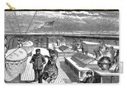 Steamships: Deck, 1870 Carry-all Pouch