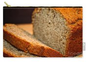 Steamy Fresh Banana Bread Carry-all Pouch by Susan Herber