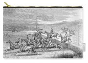 Steeplechase, 1863 Carry-all Pouch