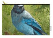 Stellar Jay Carry-all Pouch by Dee Carpenter