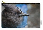 Stellars Jay Up Close And Personal Carry-all Pouch