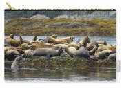 Stellers Sea Lion Eumetopias Jubatus Carry-all Pouch