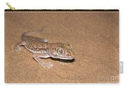 Stenodactylus Petrii Or Dune Gecko Carry-all Pouch