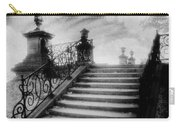 Steps At Chateau Vieux Carry-all Pouch by Simon Marsden