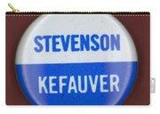 Stevenson Campaign Button Carry-all Pouch