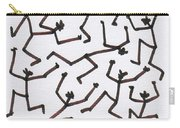 Stickmen Characters Nine Eleven Two Thousand Ten Carry-all Pouch