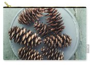 Stil Life With  Seven Pine Cones Carry-all Pouch