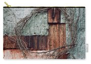 Still Decorated With A Wreath Carry-all Pouch by Priska Wettstein