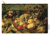 Still Life Of Fruits And Vegetables Carry-all Pouch