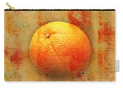 Still Life Orange Abstract Carry-all Pouch