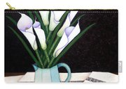 Still Life With Callas Carry-all Pouch