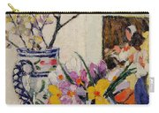 Still Life With Flowers In A Vase   Carry-all Pouch