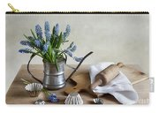 Still Life With Grape Hyacinths Carry-all Pouch
