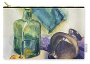 Still Life With Green Bottle Carry-all Pouch
