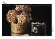 Still Life With Hydrangea And Camera Carry-all Pouch