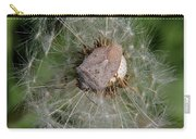 Stink Bug On Dandelion Seed Head Carry-all Pouch