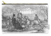 Stockholm: Sleighing, 1850 Carry-all Pouch