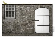 Stone Barn Window Cathedral Door Carry-all Pouch