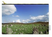 Stone Circles On A Landscape, Beaghmore Carry-all Pouch