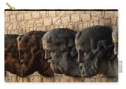 Stone Faces Carry-all Pouch