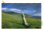 Stone On A Landscape, Ogham Stone Carry-all Pouch