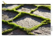 Stone Road With Green Moss Carry-all Pouch