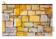 Stone Wall Carry-all Pouch by Carlos Caetano