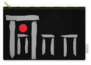 Stonehenge At The Winter Solstice Carry-all Pouch