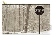 Stop Snowing Carry-all Pouch