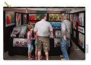 Store Front - Artist - Puppy Love  Carry-all Pouch by Mike Savad