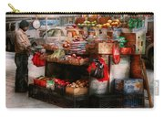 Store - Ny - Chelsea - Fresh Fruit Stand Carry-all Pouch by Mike Savad