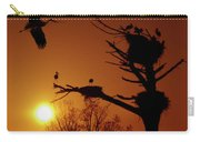 Storks Carry-all Pouch by Carlos Caetano