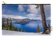 Storm Clearing At Crater Lake Carry-all Pouch