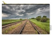 Storm Clouds Over Grain Elevator Carry-all Pouch