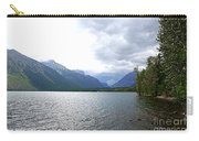 Storm Clouds Over Lake Mcdonald Carry-all Pouch