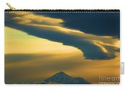 Storm Over Shasta Carry-all Pouch
