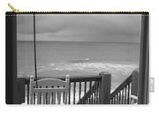 Storm-rocked Beach Chairs Carry-all Pouch